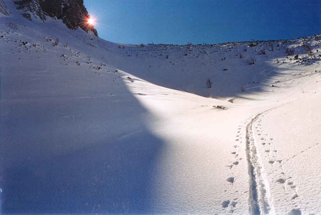 Spuren_Skitour