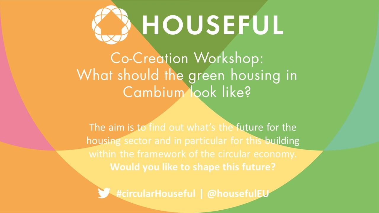 Einladung Co Creation HOUSEFUL Workshop