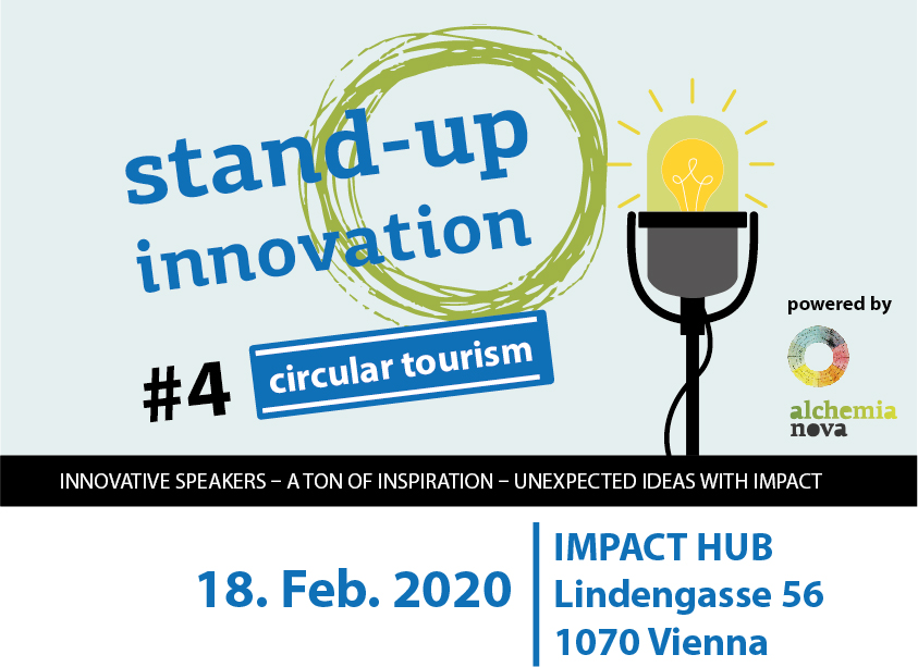 stand up innovation #circular tourism