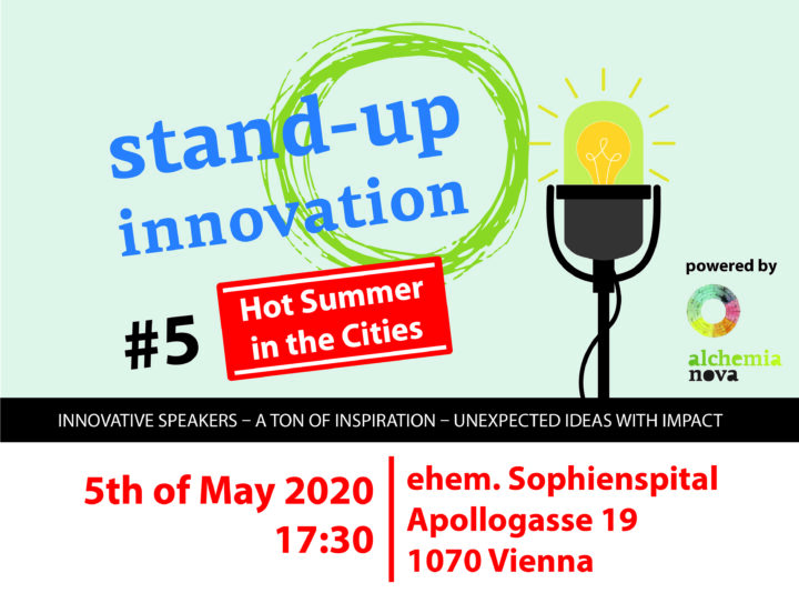 stand-up innovation #hotsummerinthecity