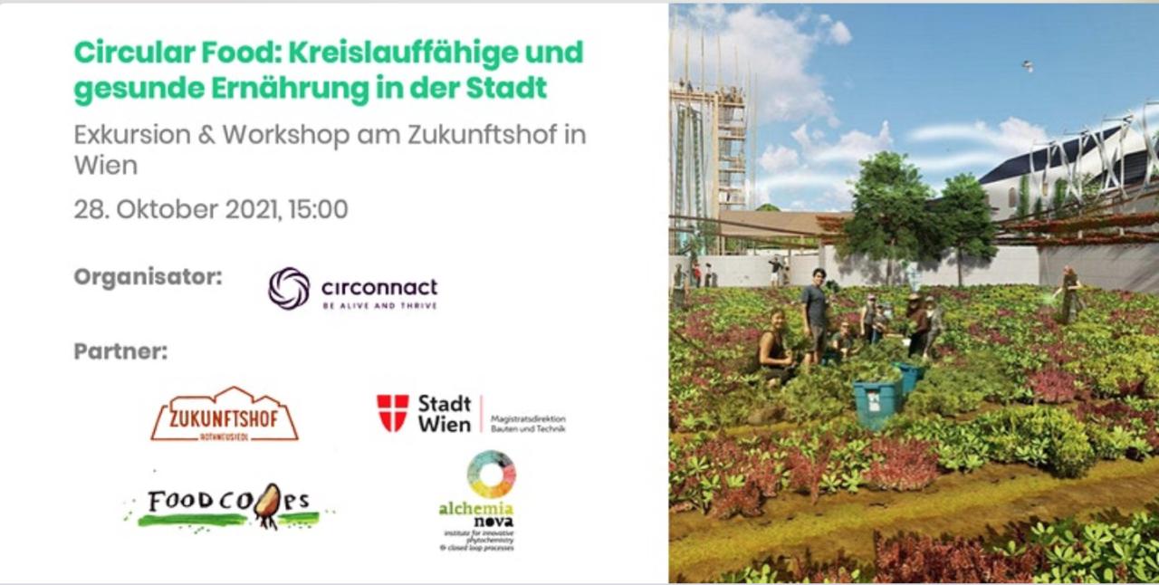 """Workshop """"Circular Food: Kreislauffähige und gesunde Ernährung in der Stadt"""""""